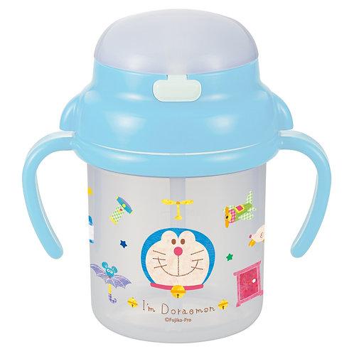 (現貨) 日本製 Doraemon 多啦A夢 (叮噹) 飲管學習杯 (8個月以上) 113406