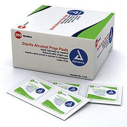 (現貨) Dynarex 酒精消毒棉片(200片裝) (打針紙)