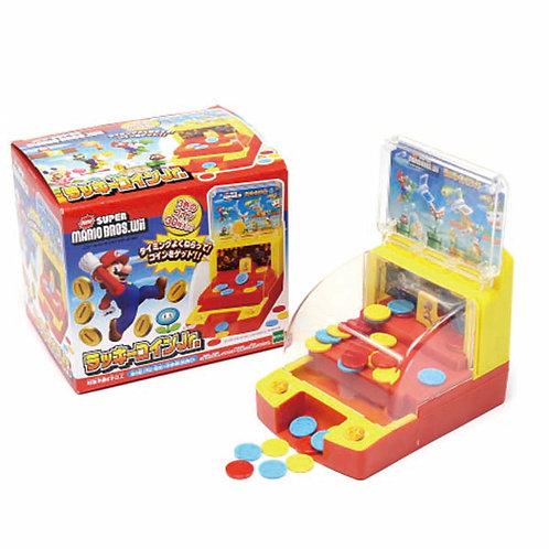 Epoch Super Mario Lucky Coin 小型推銀機 761057