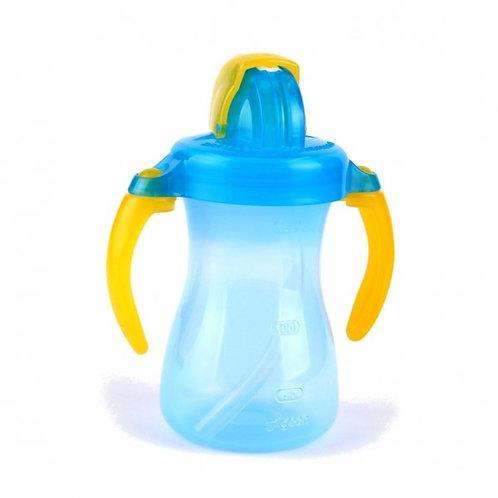 (只接受訂貨) 日本製 Pigeon 便攜吸管式水杯 (藍) 150ML (適合9個月以上嬰兒使用)  137522