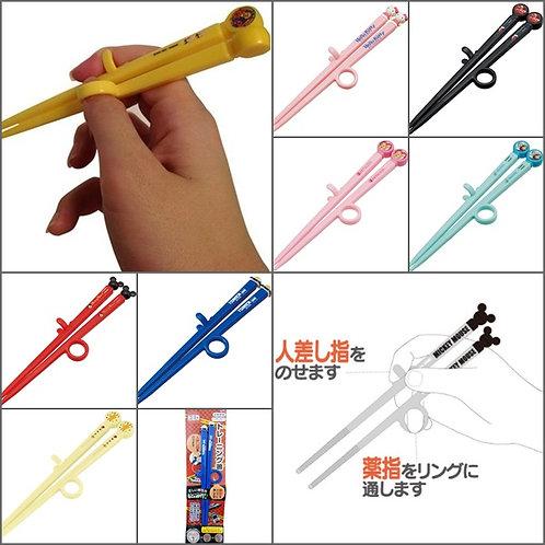 (預訂) Skater 卡通人物 指環兒童學習筷子