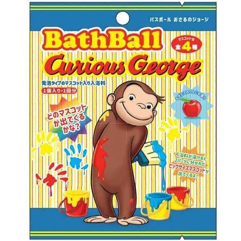 (預訂) Curious George Bath Ball 蘋果香味發泡入浴球 (附玩具)