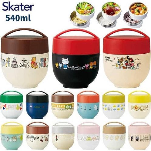 (預訂) Skater 超軽量不鏽鋼保冷保温丼飯盒 540ml