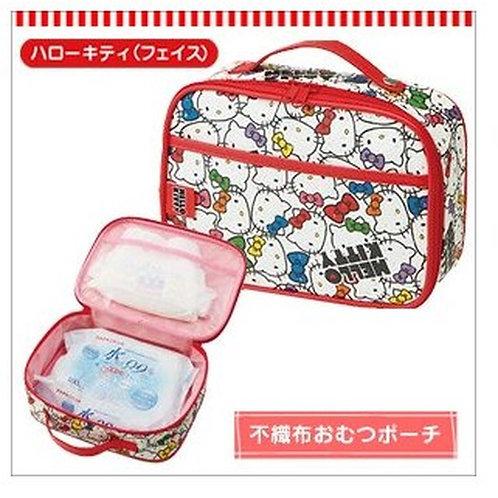 Skater Sanrio Hello Kitty 不織布質地尿片紙巾便攜收納袋 (尿片袋) 253355