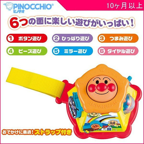 (現貨) Pinocchio 麵包超人 Anpanman 迷你 BUST BOX 6面知育工具箱 (10個月~)