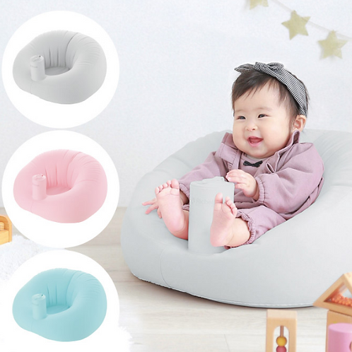 Richell Baby 毛絨質地充氣沙發 (學座椅)