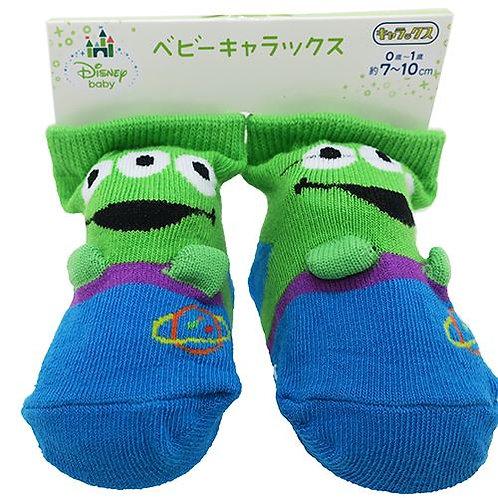 Small Planet Toy Story 三眼仔 初生嬰兒襪  (7-10cm) 168049