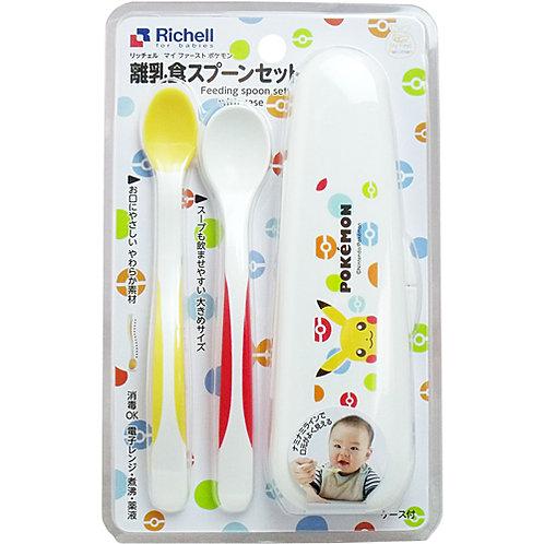 Richell Pokemon 寵物小精靈 柔軟育兒用湯匙 944059
