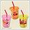 Thumbnail: 日本製 LEC 麵包超人 Anpanman 防漏吸管水杯 隨身杯 270ml (3個裝) 171800