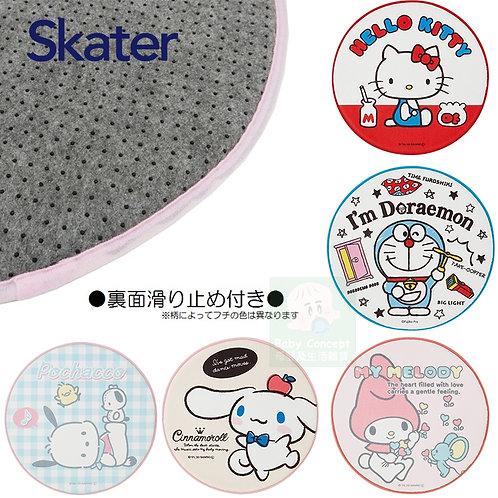 (預訂) Skater 卡通人物圓形毛氈質地地毯