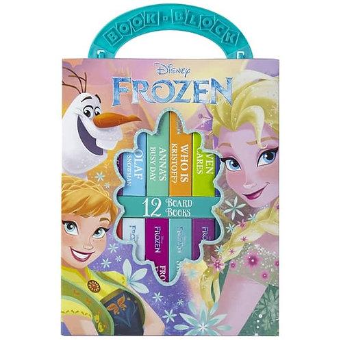 (現貨) Disney Frozen My First Library Board 兒童圖書 (1套12本)
