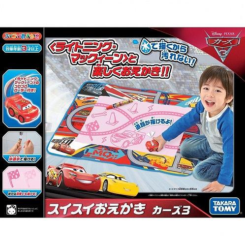Takara Tomy Cars 反斗車王 (Lightning McQueen) 神奇水畫筆地氈 (對象年齡: 3歲以上) 895886