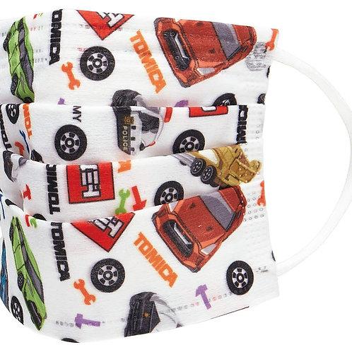 (現貨) Skater Tomica 車車 兒童口罩10個裝 (4歲以上用)