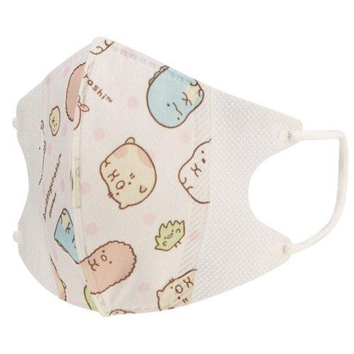 (現貨) Skater Sumikko Gurashi 角落生物兒童立體口罩10個裝 (4歲以上用)