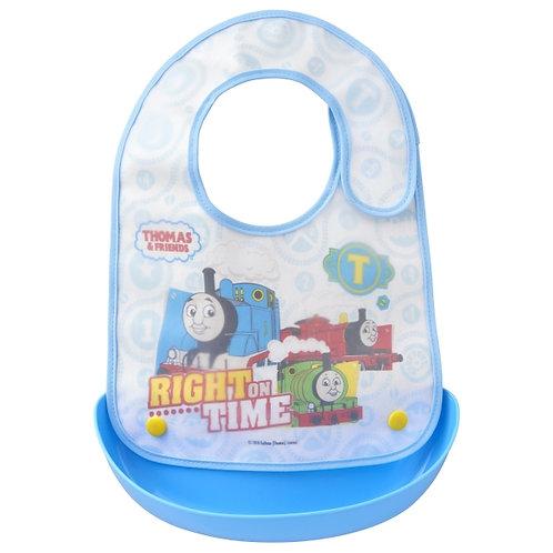 日本製 OSK Thomas & Friends 嬰兒兩用口水肩圍兜飯衣 118579