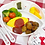 Thumbnail: (預訂) 日本製OSK卡通人物防滑餐盤 (可入微波爐)
