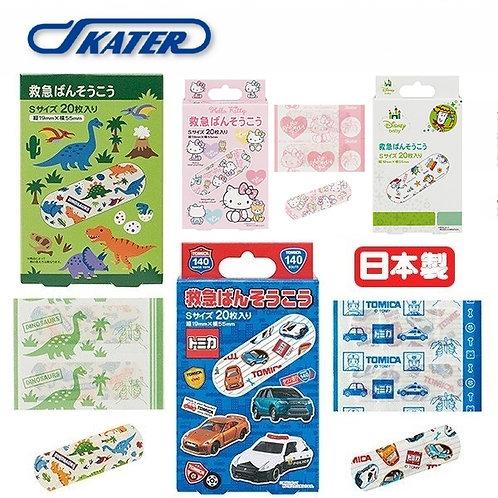 (預訂) 日本製 Skater 卡通人物急救藥水膠布20枚 (S Size)