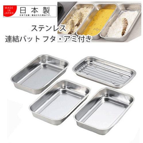 (現貨) 日本製 Yoshikawa 吉川方型料理盤組合 (一套5件) SJ1076