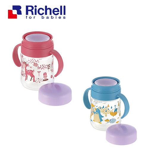 Richell Try Series 360度出水直飲學習水杯 (8個月起~)