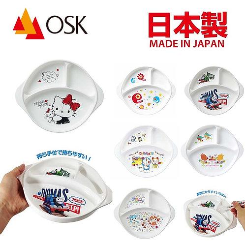 (預訂) 日本製OSK卡通人物防滑餐盤 (可入微波爐)