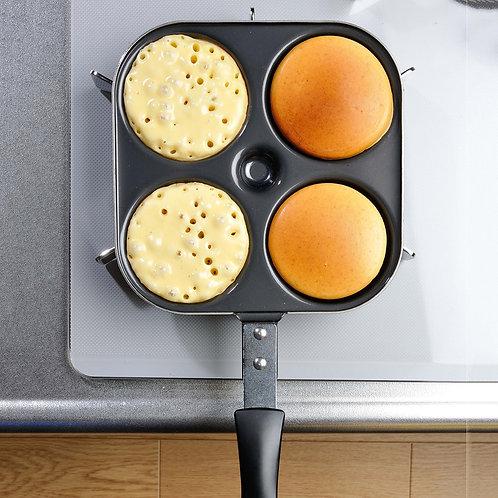 (現貨) 日本製 Shimomura 下村企販熱香餅煎PAN