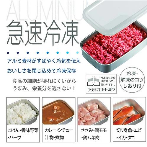 (現貨) 日本製 Skater 急速冷凍 鋁材食物盒 (S / M / L)