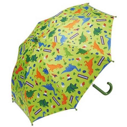 (現貨) Skater Dinosaurs 恐龍圖案晴雨兼用兒童雨傘 (兒童遮) 45cm