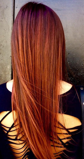 Award recognized Balayage by Lyndsey at Gloss the Salon in Little Italy San Diego