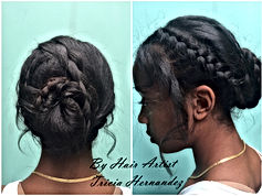 Summer Braid hair style at Gloss the Salon