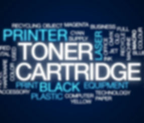 Toner Word Collage