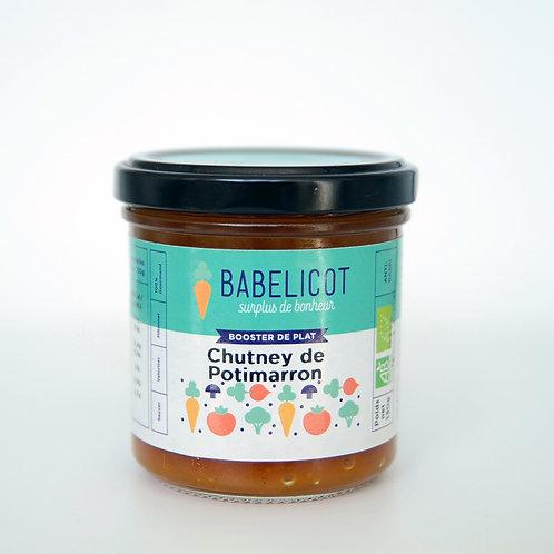 Condiment bio - Chutney de potimarron