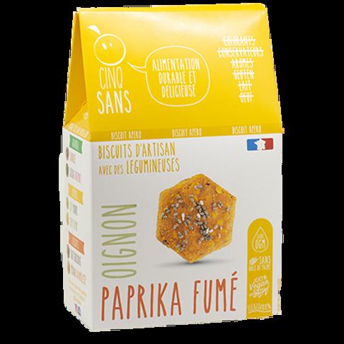 Biscuits apéro aux oignons & paprika - 100g