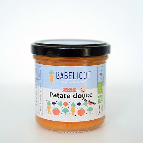 Petit pot bébé bio à la patate douce