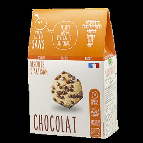 Biscuits bio aux pépites de chocolat