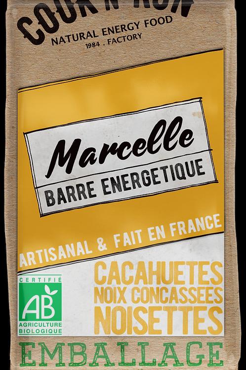 Barre énergétique bio - Cacahuètes et noix