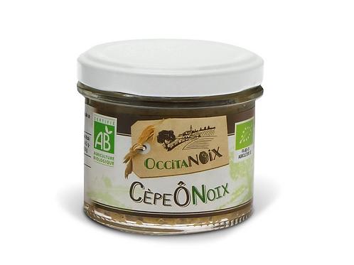 Tartinable bio aux noix et cèpes