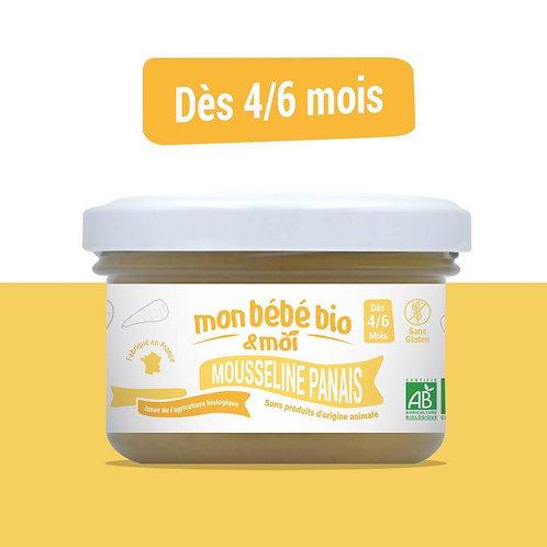 Petit pot bébé bio - Mousseline Panais