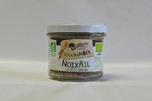 Tartinable bio noix et ail
