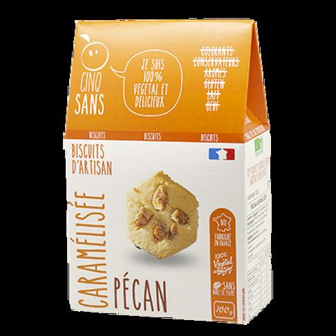 Biscuits bio aux noix de pécan caramélisées