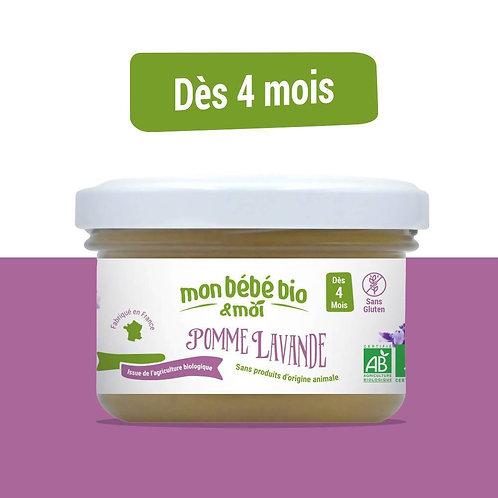 Petit pot bébé bio - Pomme et lavande