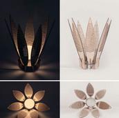 Decorative Flower Lamp Shade Laser