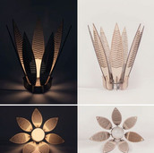 Decorative Flower Lamp Shade Laser
