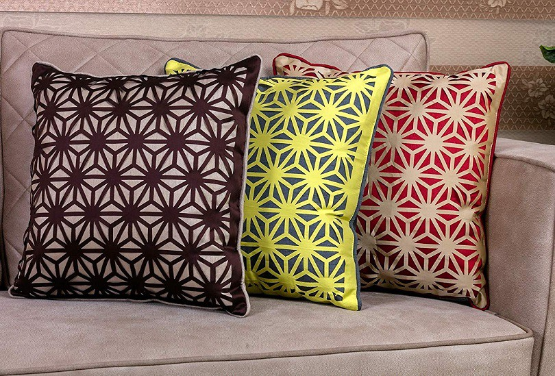 Fabric Cushion Laser Cutting