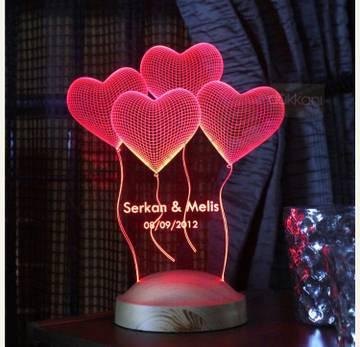 hearts-led
