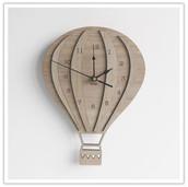 Ballon Clock