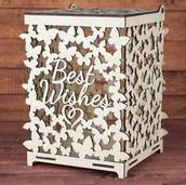 Wedding box for money Butterflies