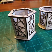Candle Holder Lantern Lines