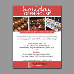 Holiday Specials Flyer
