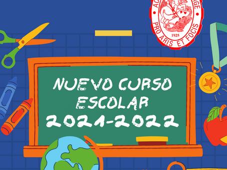 Comenzamos el curso 2021-2022