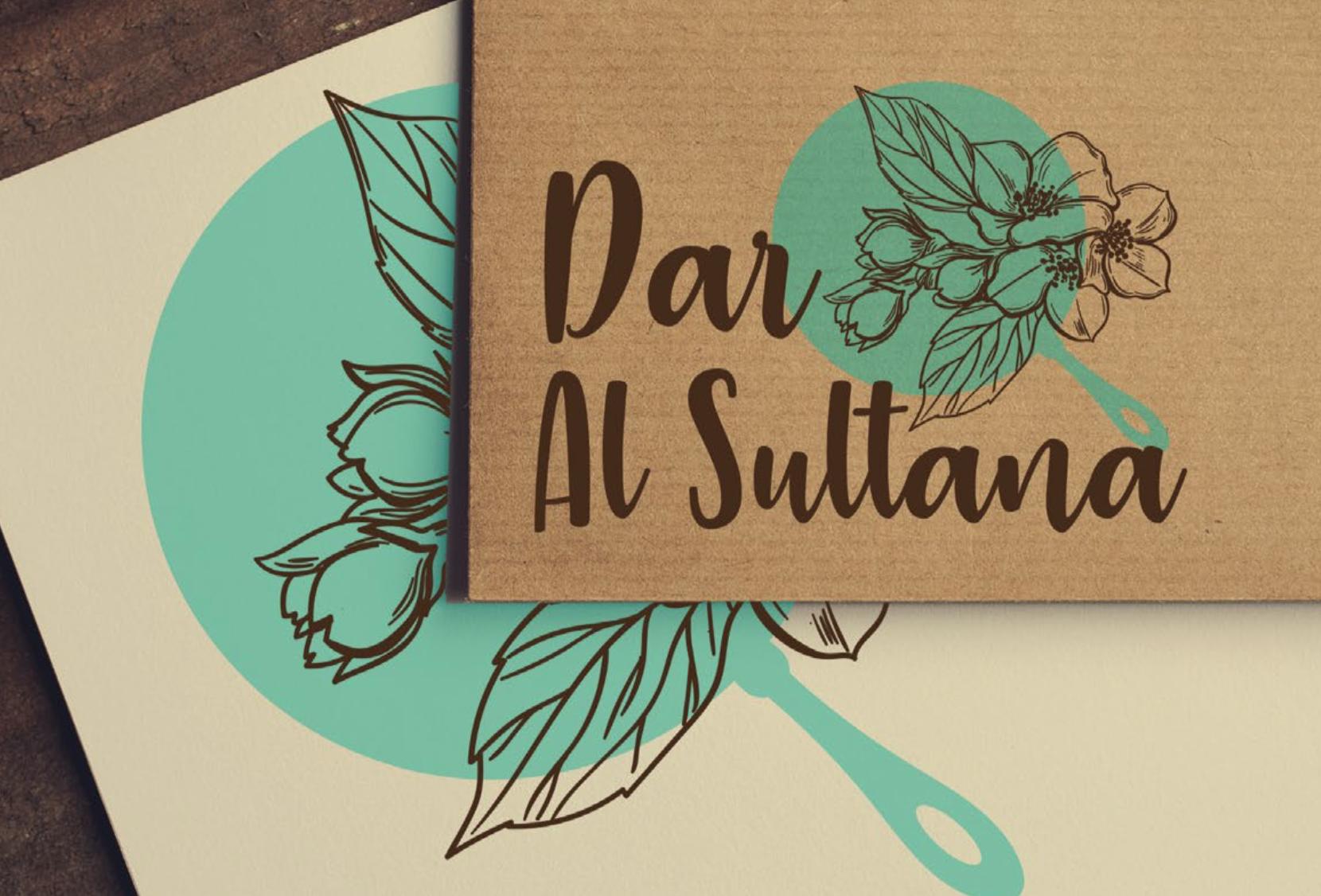 Dar Al Sultana Branding